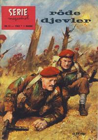 Cover Thumbnail for Seriemagasinet (Serieforlaget / Se-Bladene / Stabenfeldt, 1951 series) #15/1963
