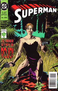 Cover Thumbnail for Supermán (Grupo Editorial Vid, 1986 series) #252