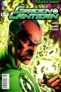 Cover Thumbnail for Green Lantern (Editorial Televisa, 2012 series) #1
