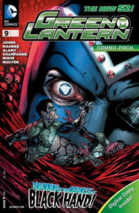 Cover Thumbnail for Green Lantern (DC, 2011 series) #9 [Combo Pack]