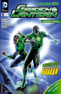 Cover Thumbnail for Green Lantern (DC, 2011 series) #8 [Combo Pack]