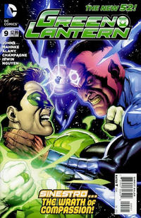 Cover Thumbnail for Green Lantern (DC, 2011 series) #9 [Gary Frank Cover]