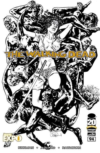 Cover for The Walking Dead (Image, 2003 series) #94 [Image Expo sketch variant]