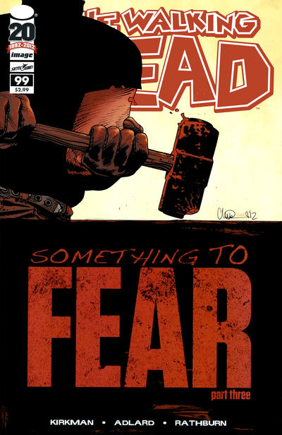 Cover for The Walking Dead (Image, 2003 series) #99 [Second Printing]