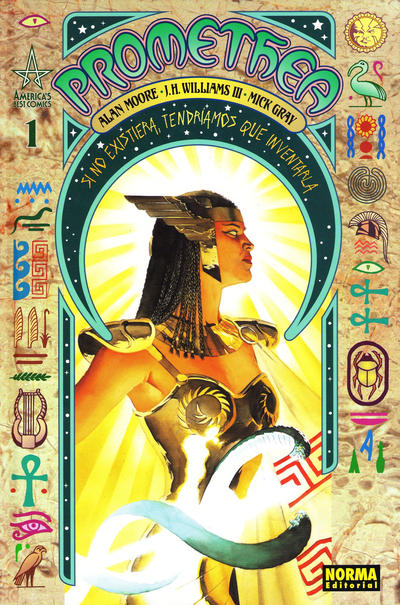 Cover for Promethea (NORMA Editorial, 2007 series) #1