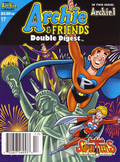 Cover for Archie & Friends Double Digest Magazine (Archie, 2011 series) #17 [Newsstand]