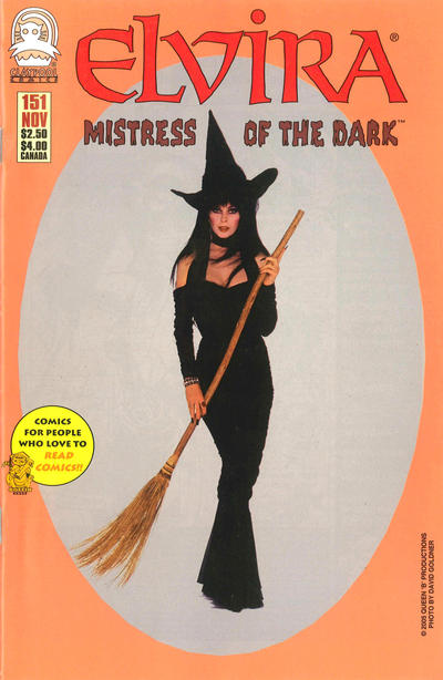 Cover for Elvira, Mistress of the Dark (Claypool Comics, 1993 series) #151