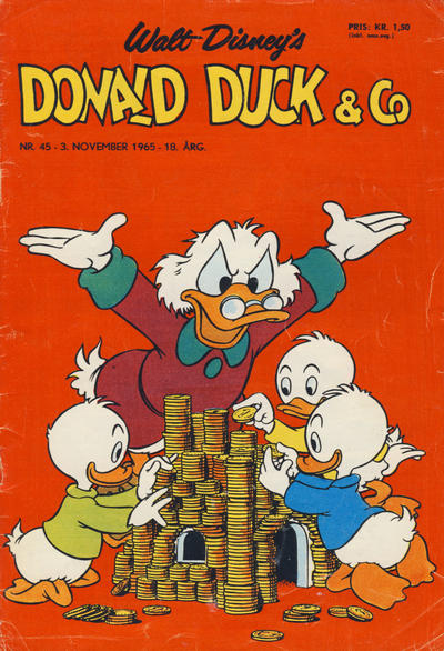 Cover for Donald Duck & Co (Hjemmet / Egmont, 1948 series) #45/1965