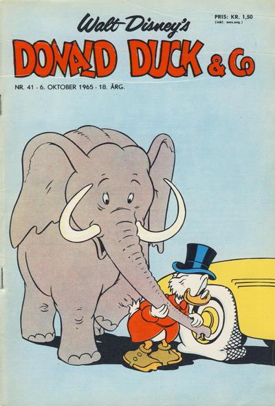 Cover for Donald Duck & Co (Hjemmet / Egmont, 1948 series) #41/1965