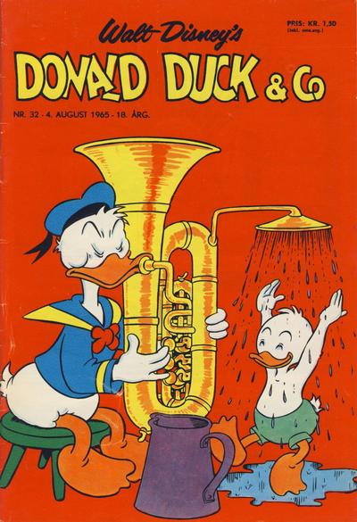 Cover for Donald Duck & Co (Hjemmet / Egmont, 1948 series) #32/1965