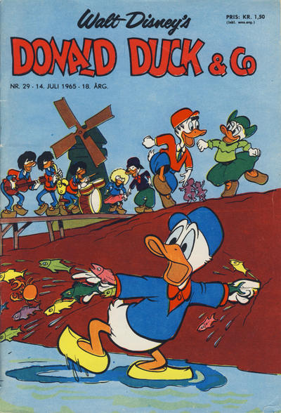 Cover for Donald Duck & Co (Hjemmet / Egmont, 1948 series) #29/1965