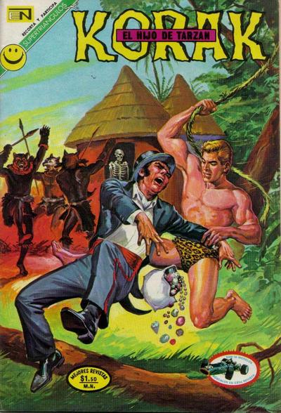 Cover for Korak (Editorial Novaro, 1972 series) #1