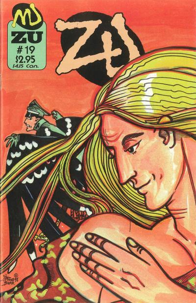 Cover for ZU (MU Press, 1995 series) #19