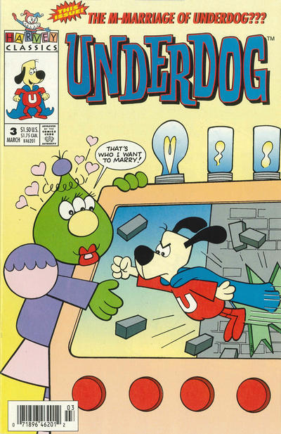Cover for Underdog (Harvey, 1993 series) #3