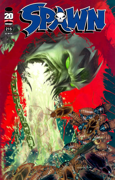 Cover for Spawn (Image, 1992 series) #215
