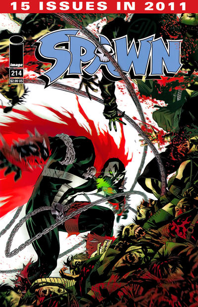 Cover for Spawn (Image, 1992 series) #214