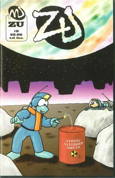 Cover for ZU (MU Press, 1995 series) #9