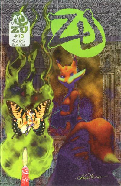 Cover for ZU (MU Press, 1995 series) #13