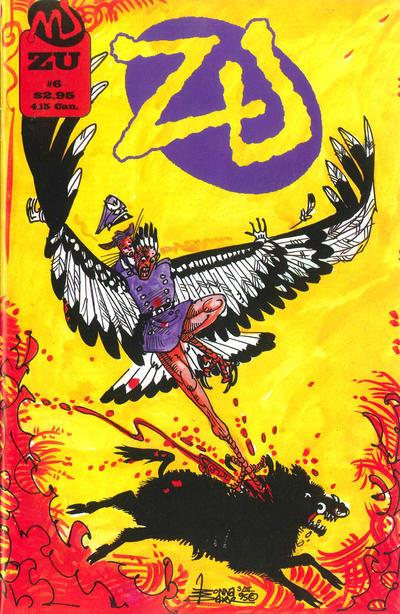 Cover for ZU (MU Press, 1995 series) #6
