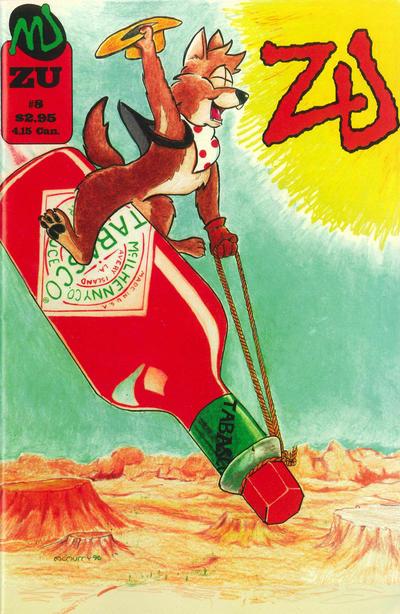 Cover for ZU (MU Press, 1995 series) #8
