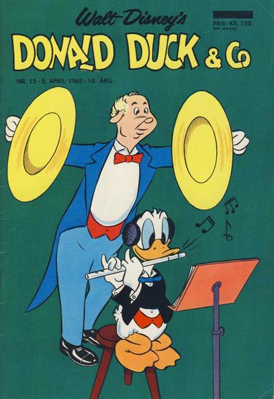Cover for Donald Duck & Co (Hjemmet / Egmont, 1948 series) #15/1965