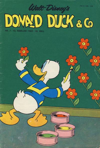 Cover for Donald Duck & Co (Hjemmet / Egmont, 1948 series) #7/1965
