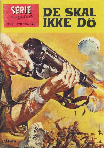 Cover for Seriemagasinet (Serieforlaget / Se-Bladene / Stabenfeldt, 1951 series) #2/1965
