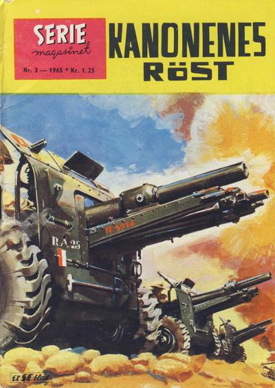 Cover for Seriemagasinet (Serieforlaget / Se-Bladene / Stabenfeldt, 1951 series) #3/1965