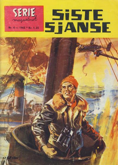 Cover for Seriemagasinet (Serieforlaget / Se-Bladene / Stabenfeldt, 1951 series) #4/1965