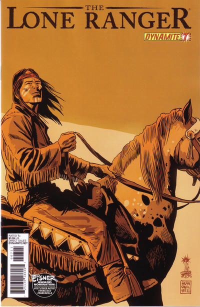 Cover for The Lone Ranger (Dynamite Entertainment, 2012 series) #7