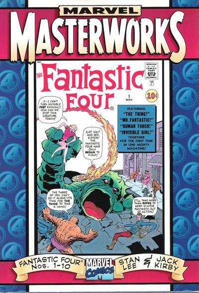 Cover for Marvel Masterworks: The Fantastic Four (Marvel, 1997 series) #[1]