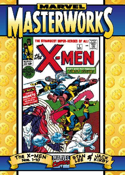 Cover for Marvel Masterworks: The X-Men (Marvel, 1998 series) #[1]