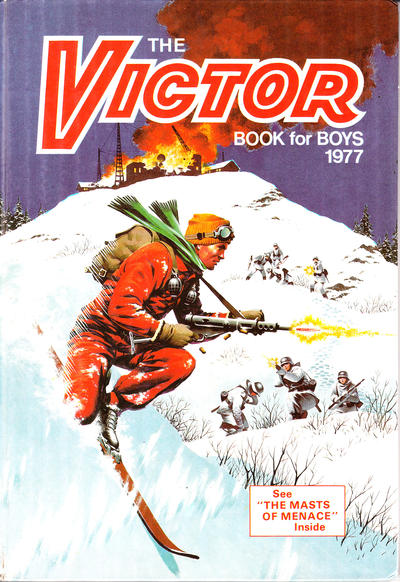 Cover for The Victor Book for Boys (D.C. Thomson, 1965 series) #1977