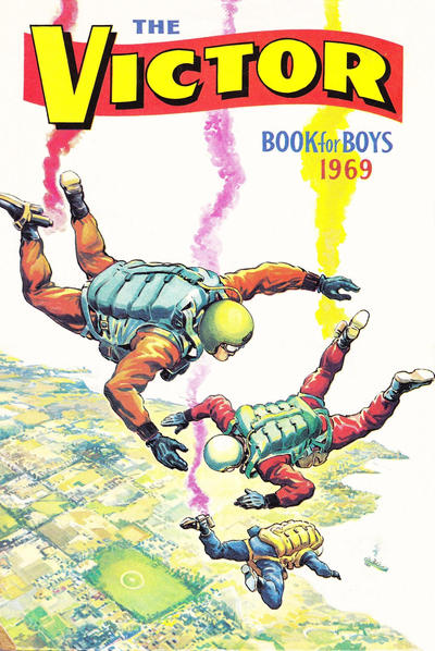 Cover for The Victor Book for Boys (D.C. Thomson, 1965 series) #1969