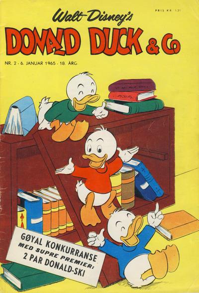 Cover for Donald Duck & Co (Hjemmet / Egmont, 1948 series) #2/1965