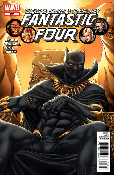 Cover for Fantastic Four (Marvel, 2012 series) #607