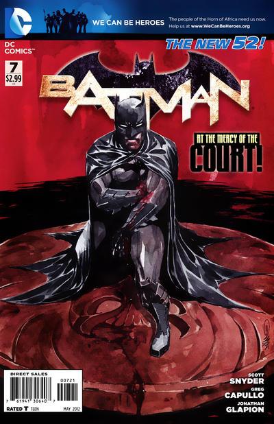 Cover for Batman (DC, 2011 series) #7