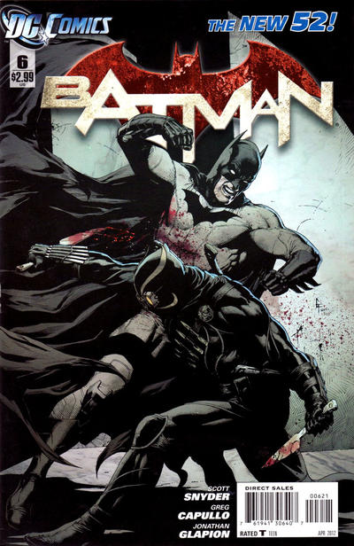 Cover for Batman (DC, 2011 series) #6 [Combo-Pack]