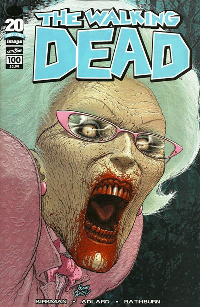 Cover for The Walking Dead (Image, 2003 series) #100 [Cover D]