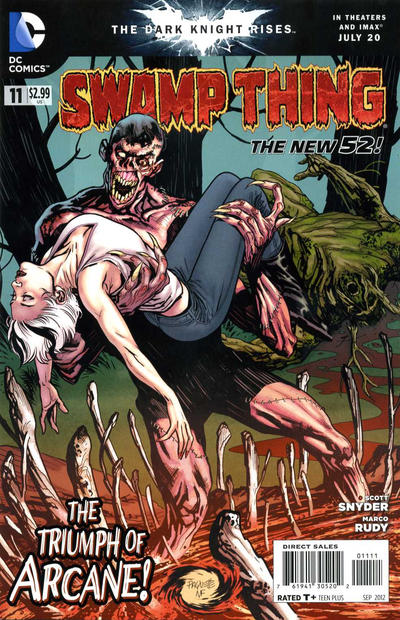 Cover for Swamp Thing (DC, 2011 series) #11