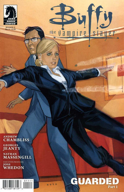Cover for Buffy the Vampire Slayer Season 9 (Dark Horse, 2011 series) #11 [Georges Jeanty Alternate Cover]