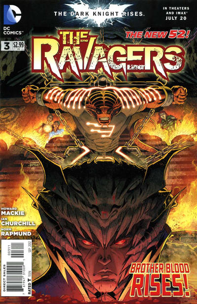 Cover for The Ravagers (DC, 2012 series) #3