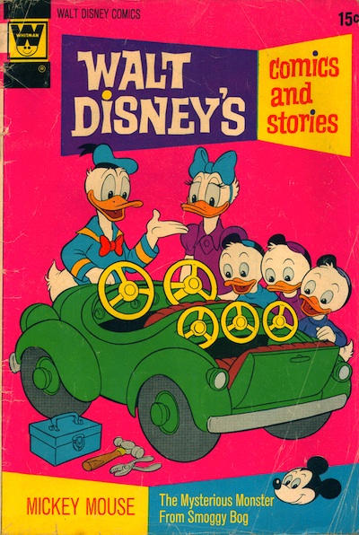 Cover for Walt Disney's Comics and Stories (Western, 1962 series) #v32#11 (383) [Whitman]
