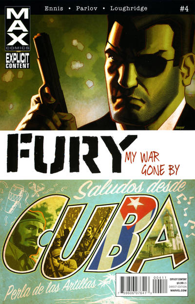Cover for Fury Max (Marvel, 2012 series) #4