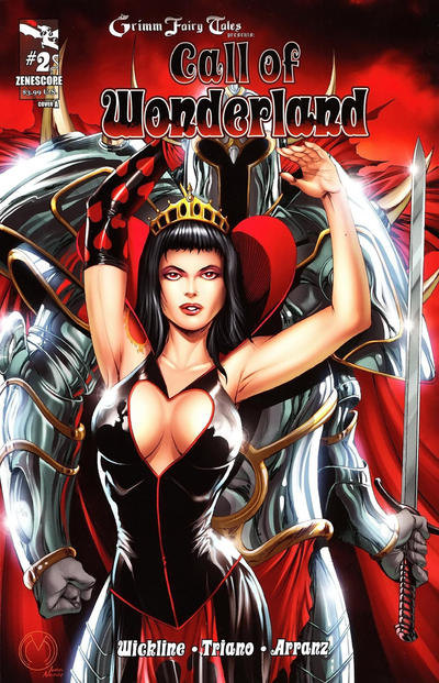 Cover for Grimm Fairy Tales Presents Call of Wonderland (Zenescope Entertainment, 2012 series) #2 [Cover B]