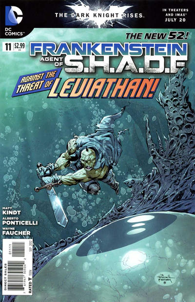 Cover for Frankenstein, Agent of S.H.A.D.E. (DC, 2011 series) #11