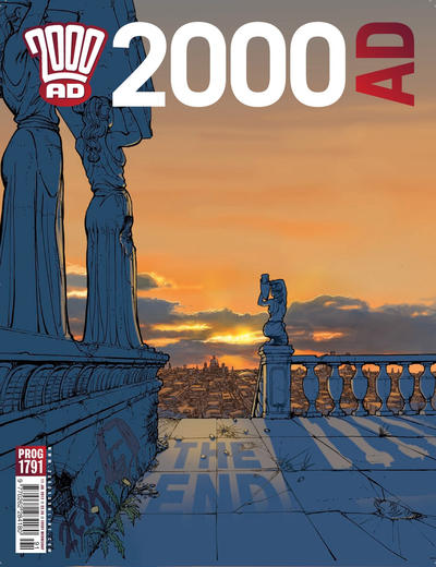 Cover for 2000 AD (Rebellion, 2001 series) #1791