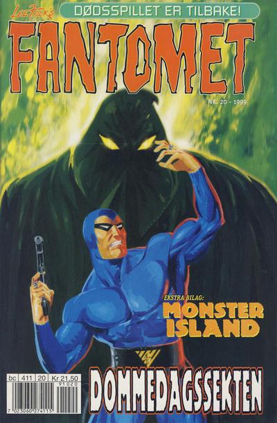 Cover for Fantomet (Hjemmet / Egmont, 1998 series) #20/1999