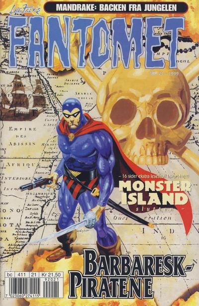 Cover for Fantomet (Hjemmet / Egmont, 1998 series) #21/1999