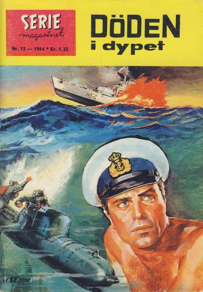 Cover for Seriemagasinet (Serieforlaget / Se-Bladene / Stabenfeldt, 1951 series) #12/1964